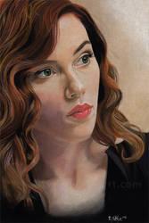 Scarlett Johansson by Fayeren