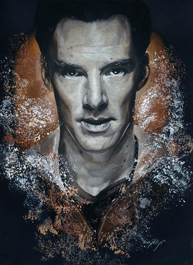 Benedict Cumberbatch by Fayeren