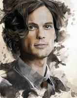 Spencer Reid by Fayeren