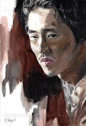 Glenn - The Walking Dead by Fayeren