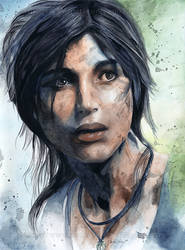 Lara Croft by Fayeren