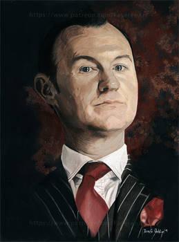 Mycroft (Mark Gatiss)- Sherlock BBC