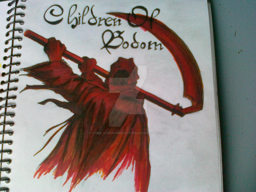 Children Of Bodom Reaper by TheBlooddrunkPanther on DeviantArt