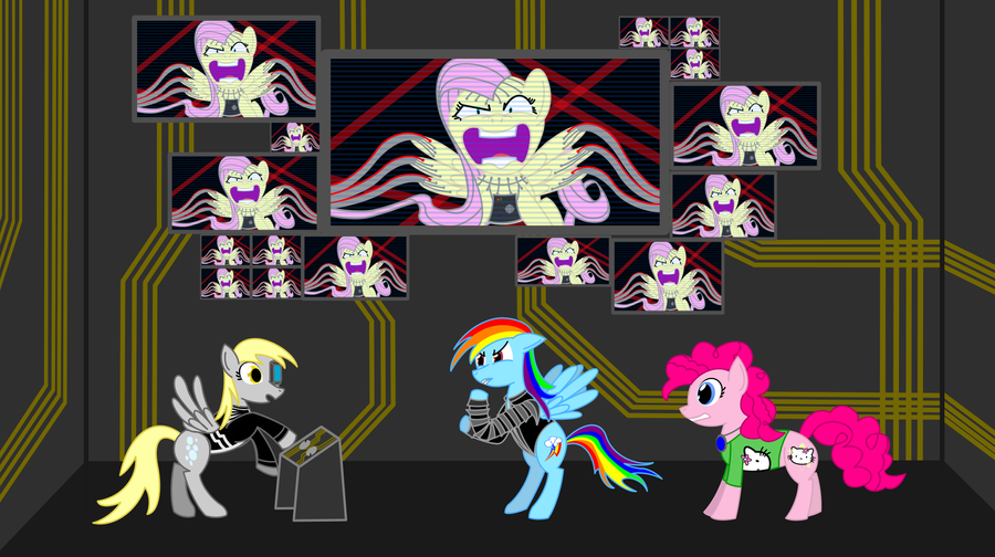 Our Hideous Ponies by lennia2005