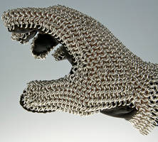 Chain-mail Glove by caerul
