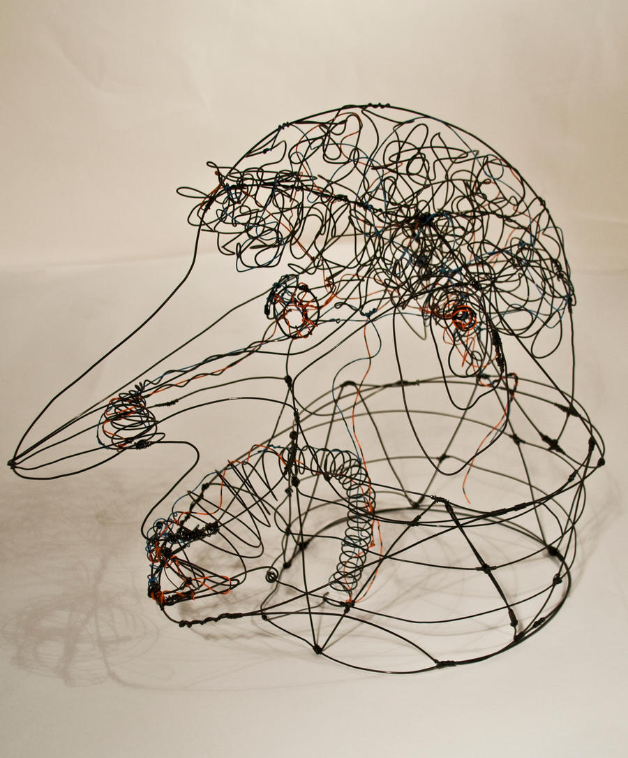 3-D Line Drawing by caerul