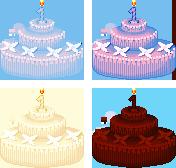 Ernya 1st Birthday Cakes by SamTheShiz