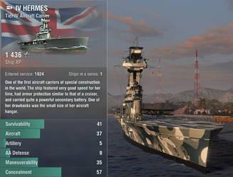 HMS HERMES by bomsteinam