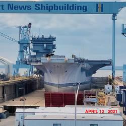 A Recent Photo Taken Of USS Enterprise CVN-65.