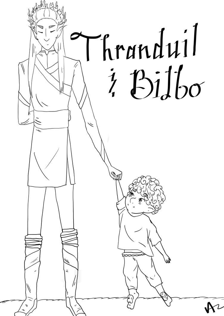 Thranduil &Bilbo by OrangeSkye2772