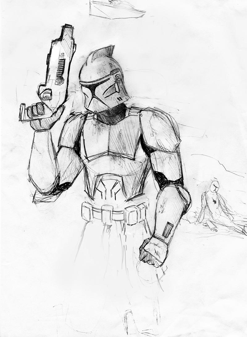 Star wars clone trooper by vegeth