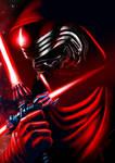 Kylo Ren - Star Wars VII - Speed Paint by Yue