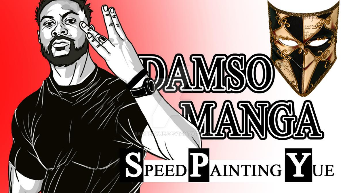 DAMSO MANGA STYLE - Resquested by KRONOMUZIK by masteryue