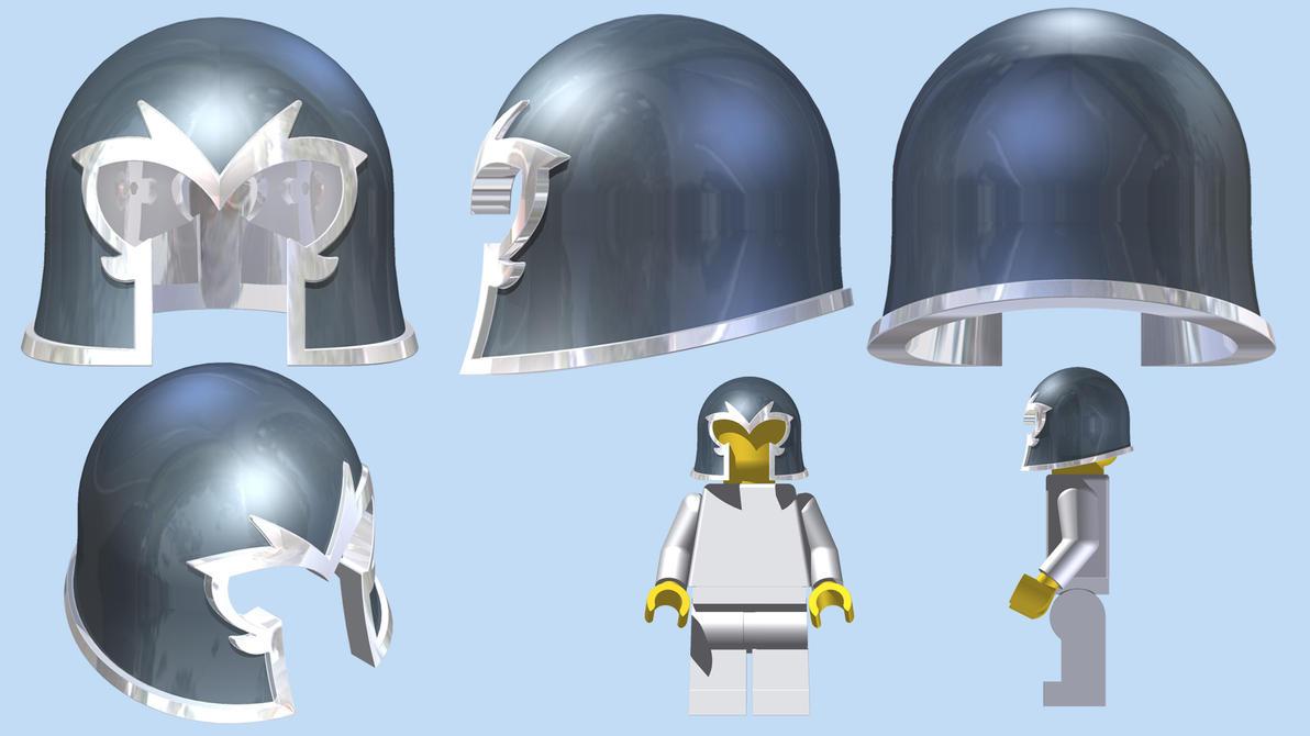 LEGO Magneto Helmet By Mingles