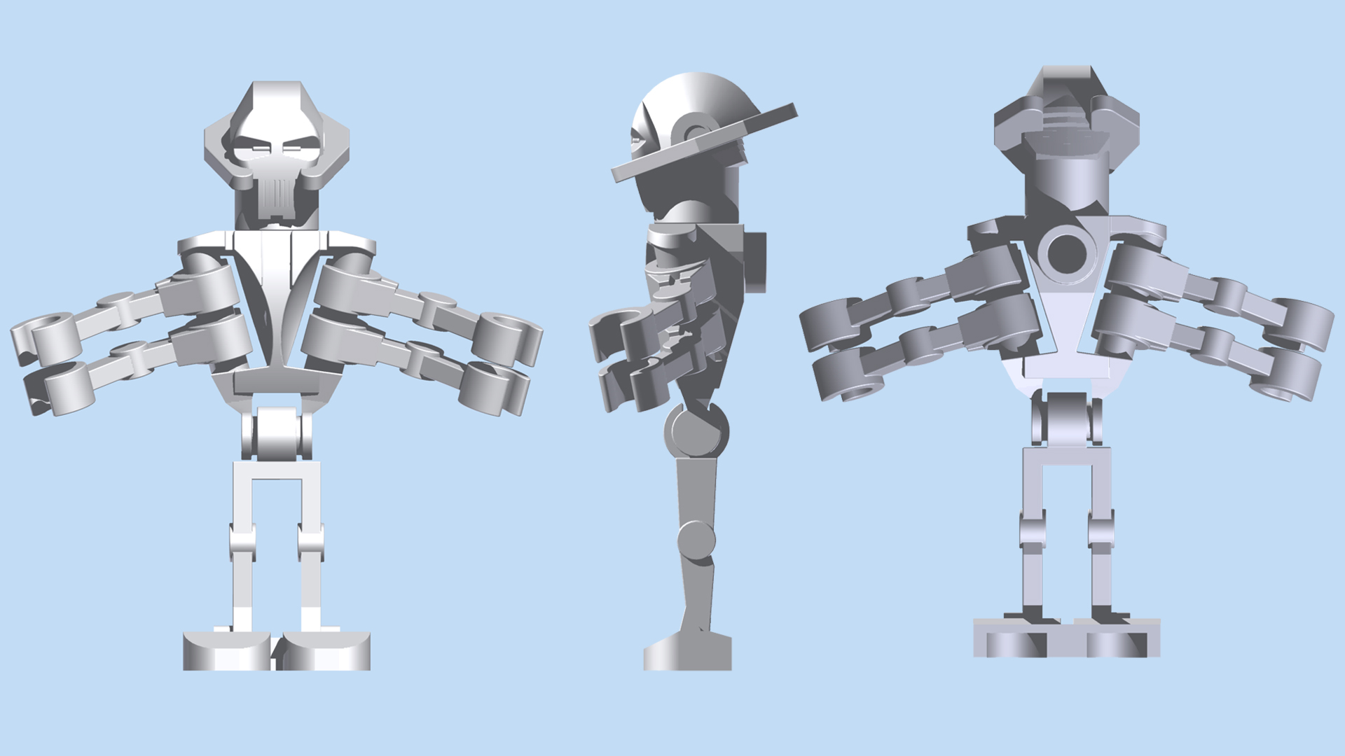 LEGO General Grievous by mingles on DeviantArt