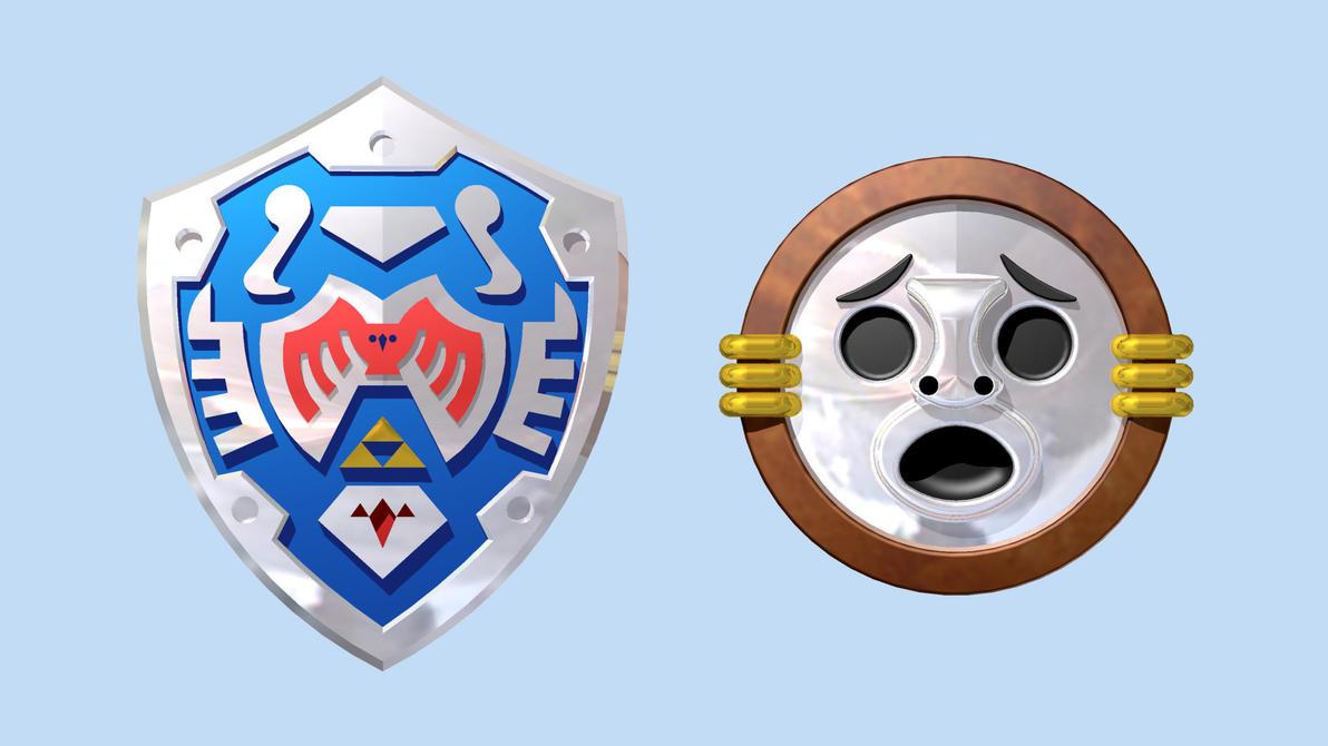 LEGO Shields of Majora's Mask by mingles