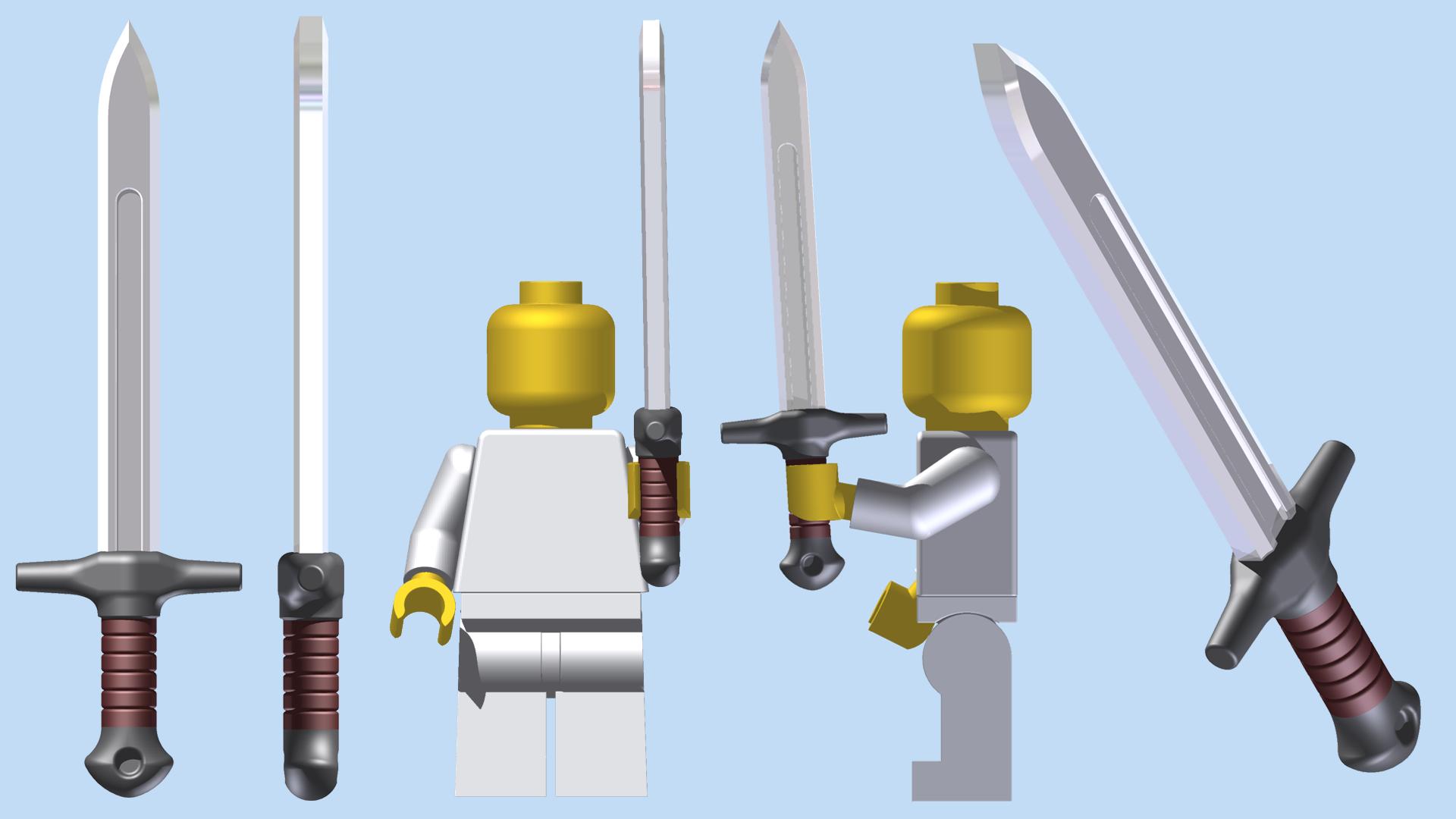 LEGO Ordon Sword by mingles