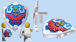 LEGO Hylian Shield (SS)