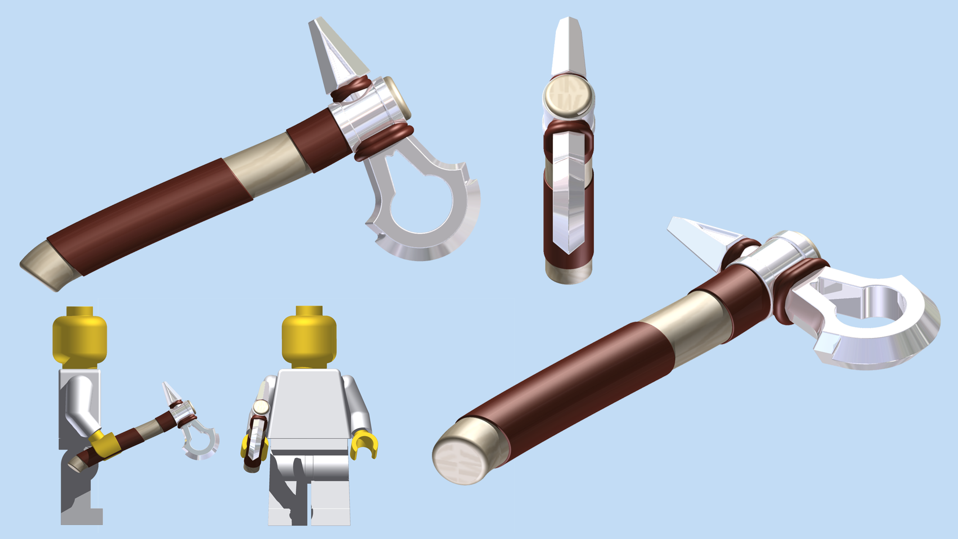 Lego Assassin S Creed Tomahawk By Mingles On Deviantart