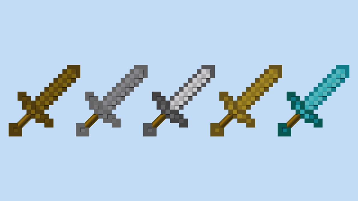 minecraft sword clipart - photo #34