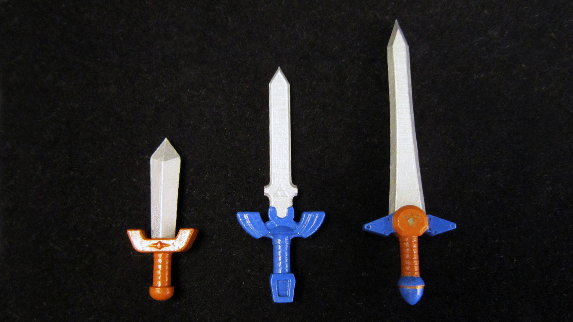 lego 3d printed ocarina of time swords by mingles on