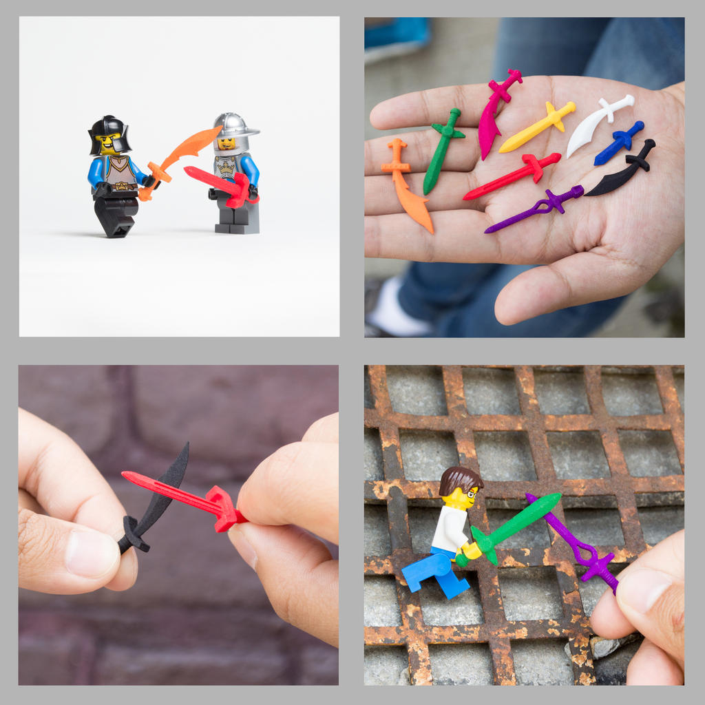 Customise and 3D Print Your Own LEGO Scaled Sword! by mingles