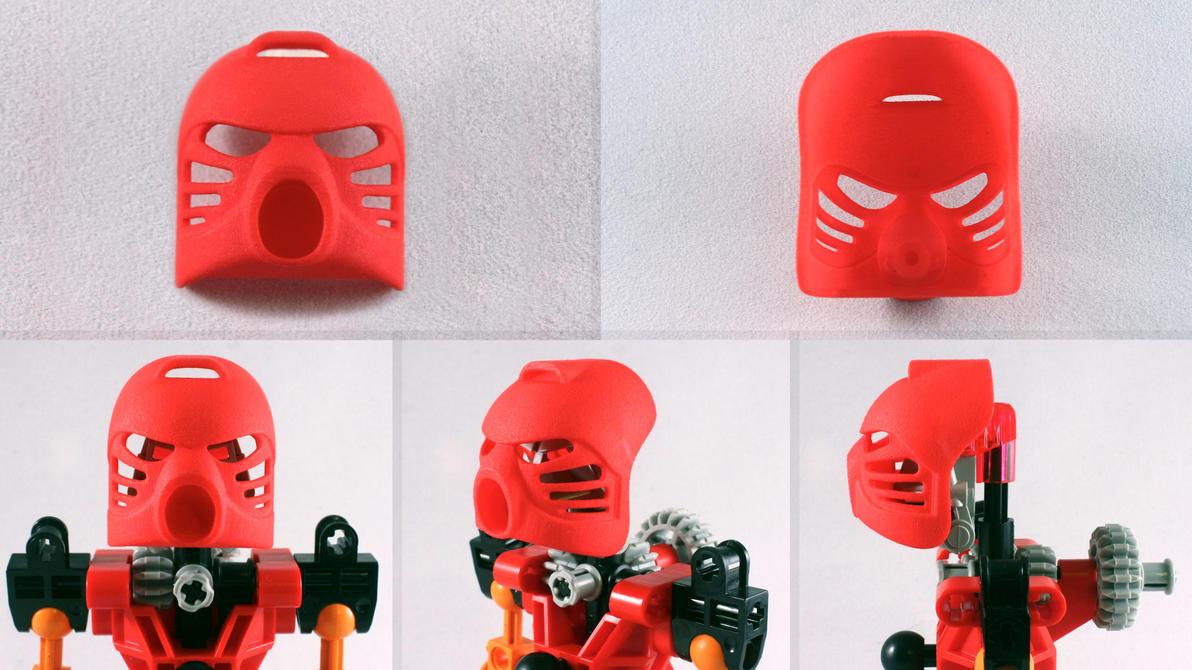 3D Printed Kanohi Hau by mingles