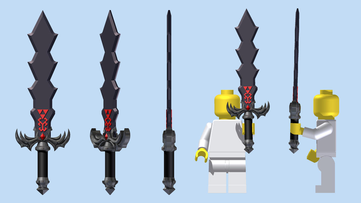 LEGO Demon King's Sword by mingles