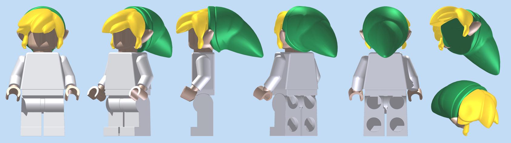 LEGO Toon Headpiece by mingles