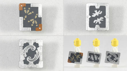 LEGO Iron Shields by mingles
