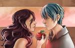 Commission- Hana and Anzai-