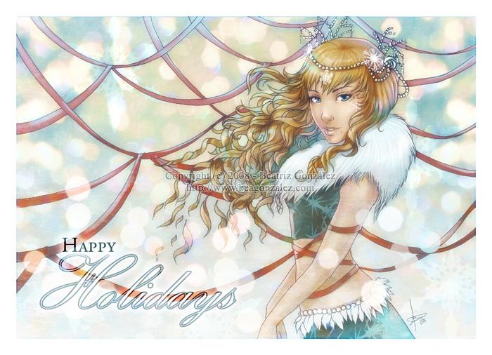 Happy holidays 2008 by Bea-Gonzalez