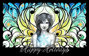 Happy Holidays 2009 by Bea-Gonzalez