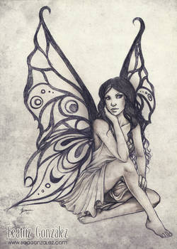 Commission - Butterfly Fairy