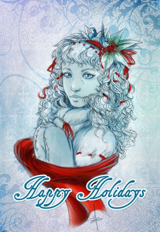 Happy holidays 2010 by Bea-Gonzalez