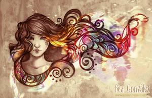 Flame Melodia by Bea-Gonzalez