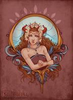 Flower Demon by Bea-Gonzalez