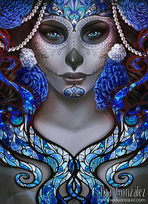 Blue Death by Bea-Gonzalez