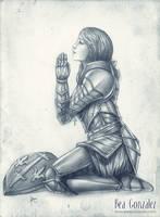 Commission -Joan of arc by Bea-Gonzalez