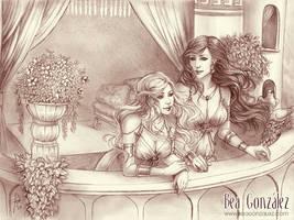 Commission - Zora and Maelerys by Bea-Gonzalez