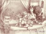 Commission - Zora and Maelerys