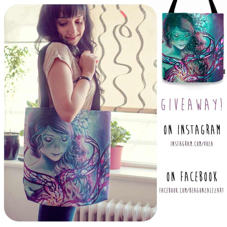 Tote Bag Giveaway!!! by Bea-Gonzalez