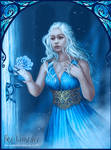 Commission- Daenerys and the rose