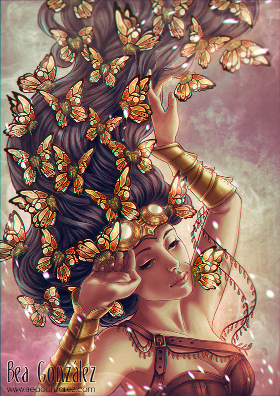 Mechanic Butterflies. by Bea-Gonzalez