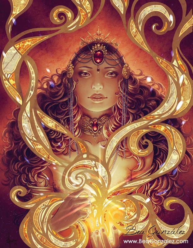 Dream of Magic Spells. by Bea-Gonzalez