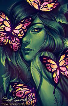 Glass Butterflies.