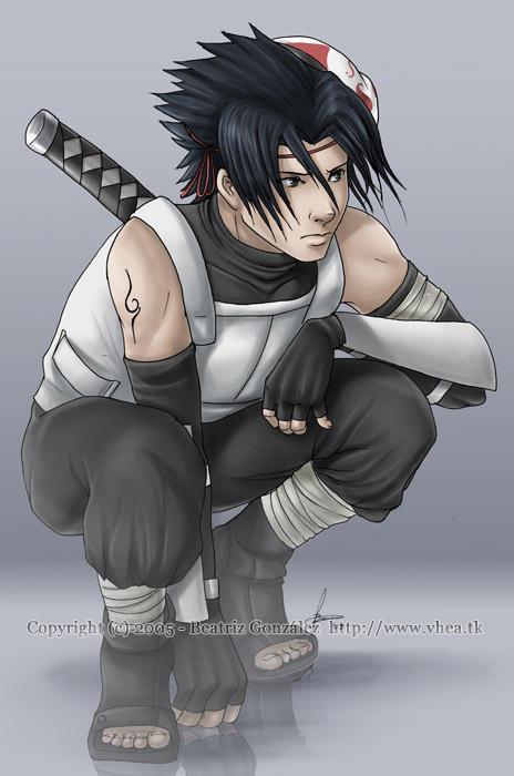 Sasuke Anbu by Bea-Gonzalez
