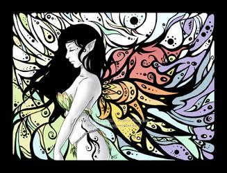 Wings simplicity IV by Bea-Gonzalez