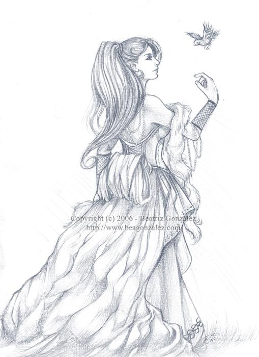 Bird- random sketch- by Bea-Gonzalez
