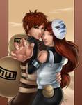 Commission -Gaara and Kaiya-
